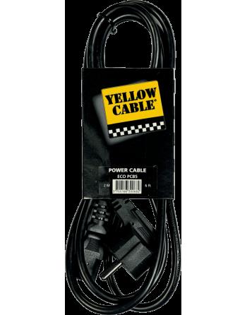 YELLOW CABLE CORDON SECTEUR
