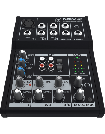 CONSOLE MACKIE MIX 5