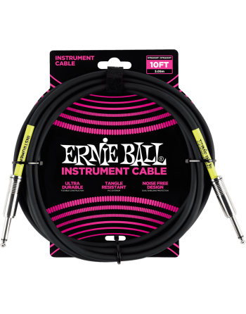 CABLE JACK ERNIE BALL 3M