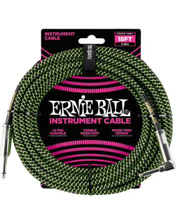 CABLE JACK ERNIE BALL 5.5M...