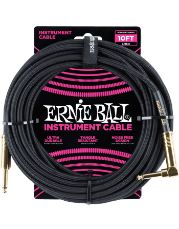 CABLE JACK ERNIE BALL 3M...