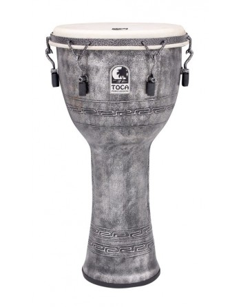 """TOCA DJEMBE 12""""ANTIQUE SILVER"""